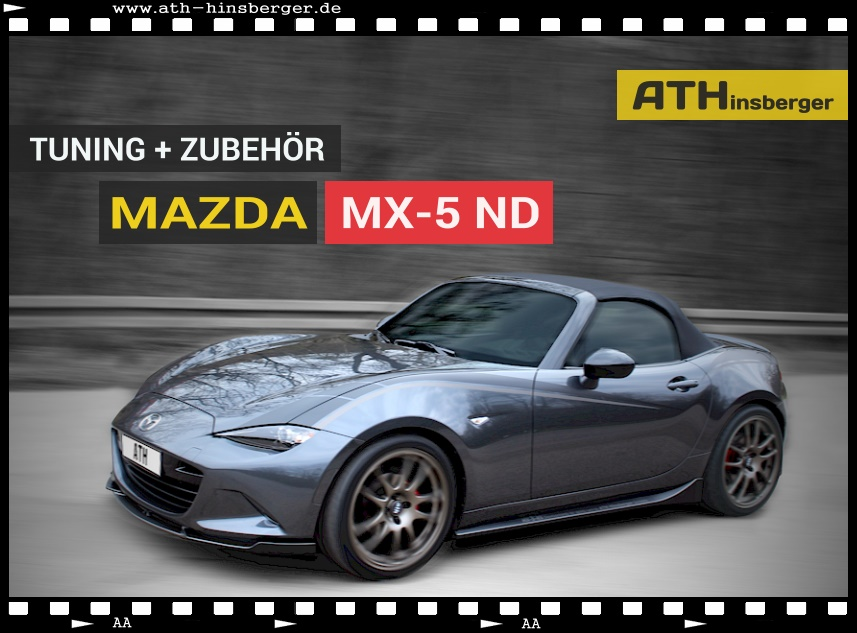 mazda mx 5 nd tuning zubeh r ab modelljahr 2015. Black Bedroom Furniture Sets. Home Design Ideas