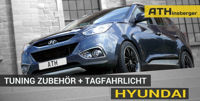 hyundai tuning tagfahrlicht zubeh r teile mit t v. Black Bedroom Furniture Sets. Home Design Ideas