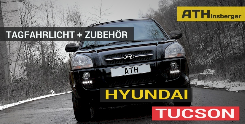 hyundai tucson jm tuning zubeh r tagfahrlicht. Black Bedroom Furniture Sets. Home Design Ideas