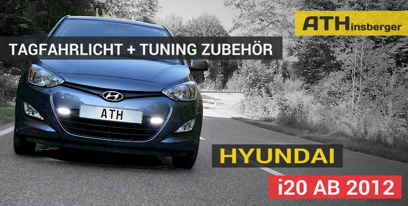 hyundai i20 ab 2012 tuning zubeh r tagfahrlicht. Black Bedroom Furniture Sets. Home Design Ideas