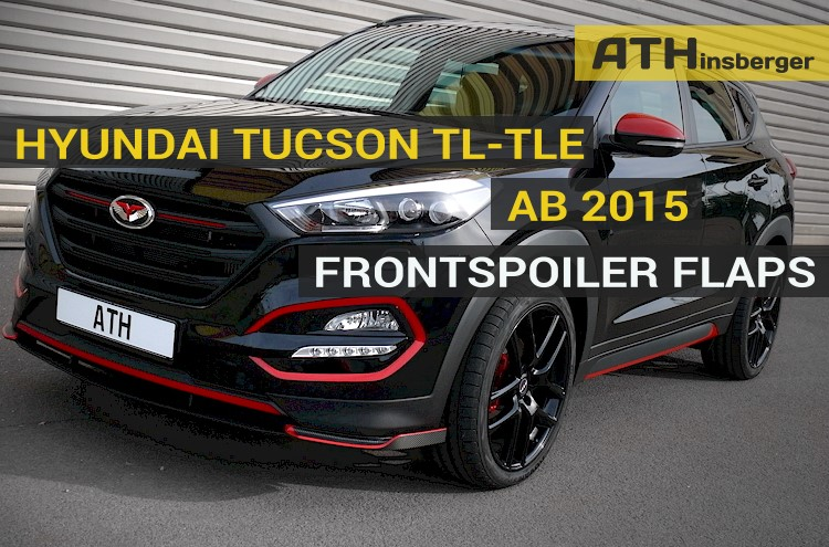 frontspoiler flaps hyundai tucson t v einfache montage. Black Bedroom Furniture Sets. Home Design Ideas
