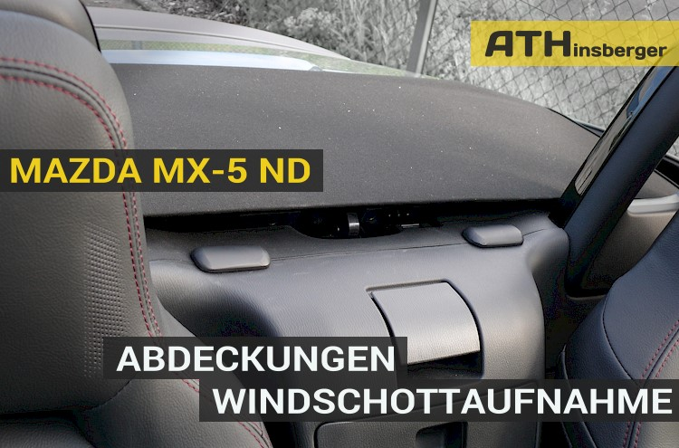 windschott adapter mazda mx 5 nd abdeckung. Black Bedroom Furniture Sets. Home Design Ideas